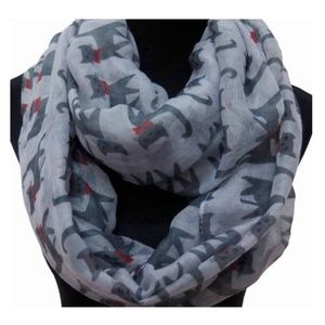 Light Gray Cat Lady for Infinity Scarf